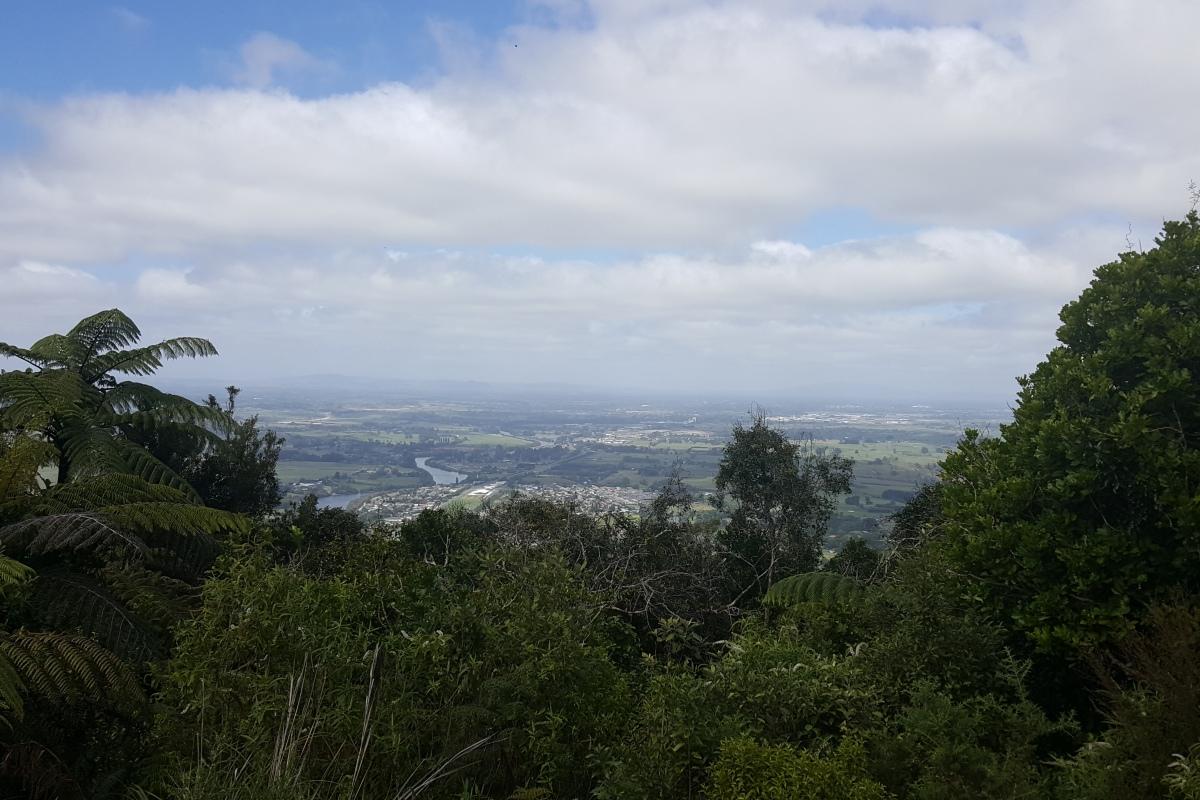 Hakarimata Summit, Ngaruawahia, New Zealand